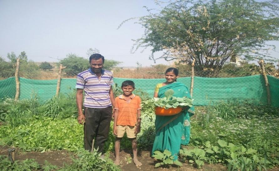 Kitchen Garden For 2 Families