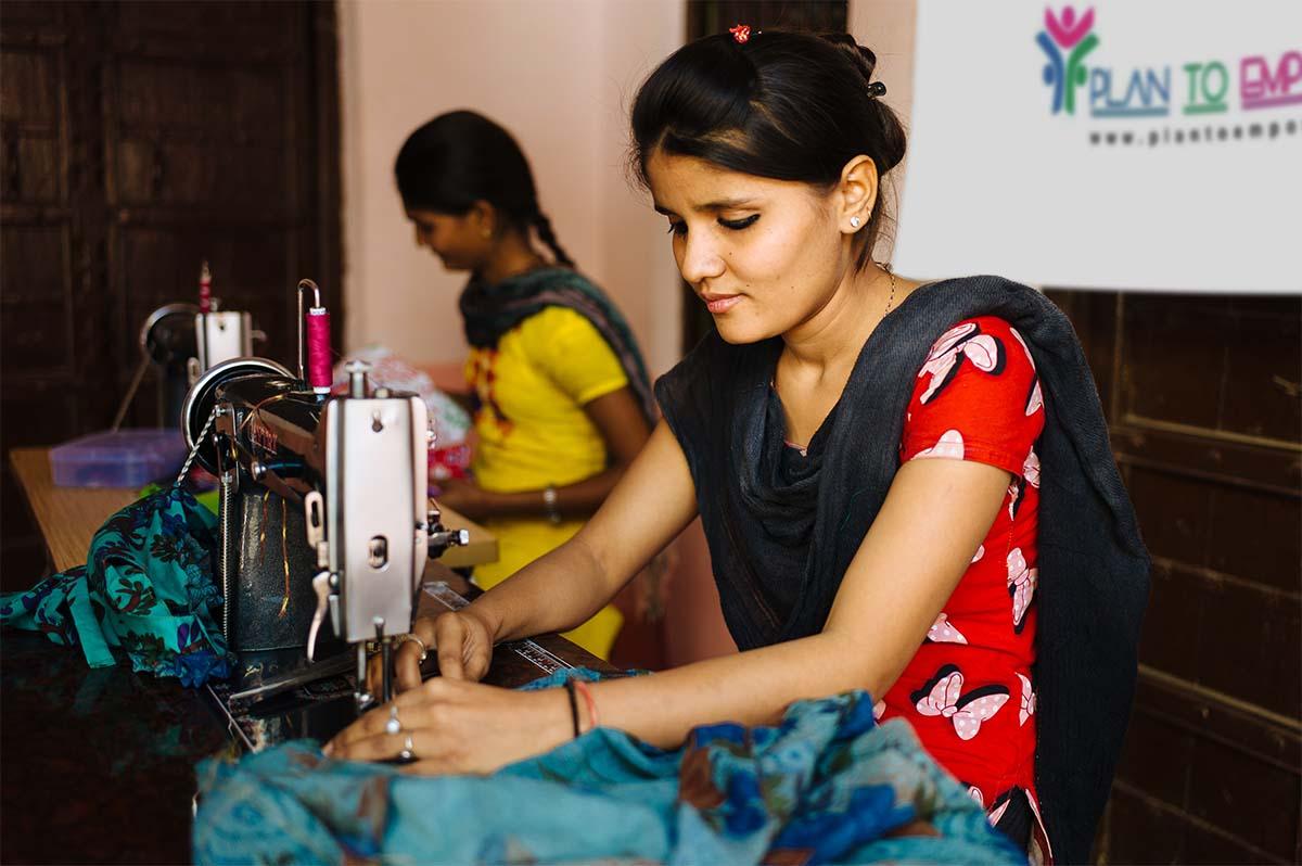 Empowering women through stitching & tailoring classes