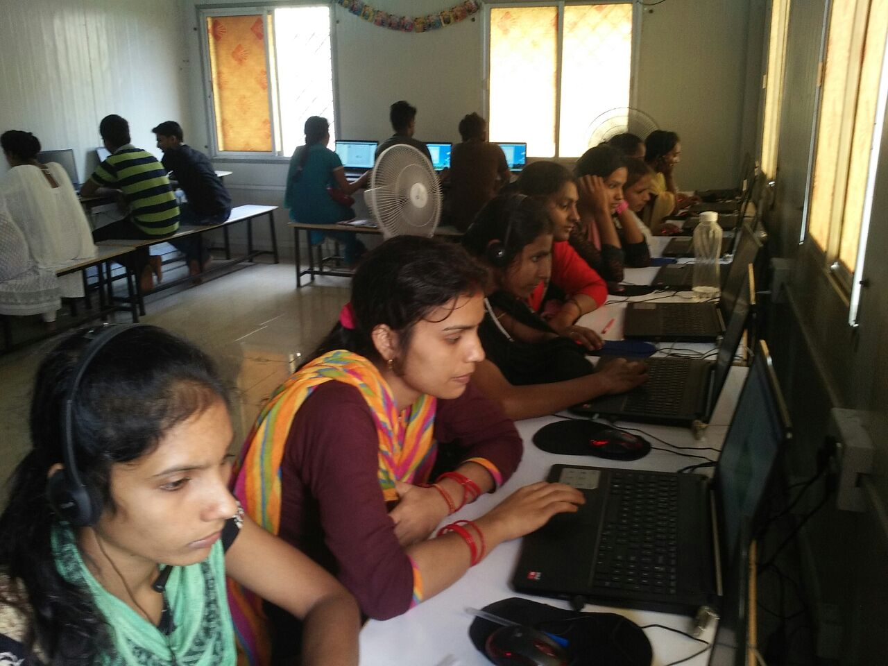 Computer training for adolescent girls