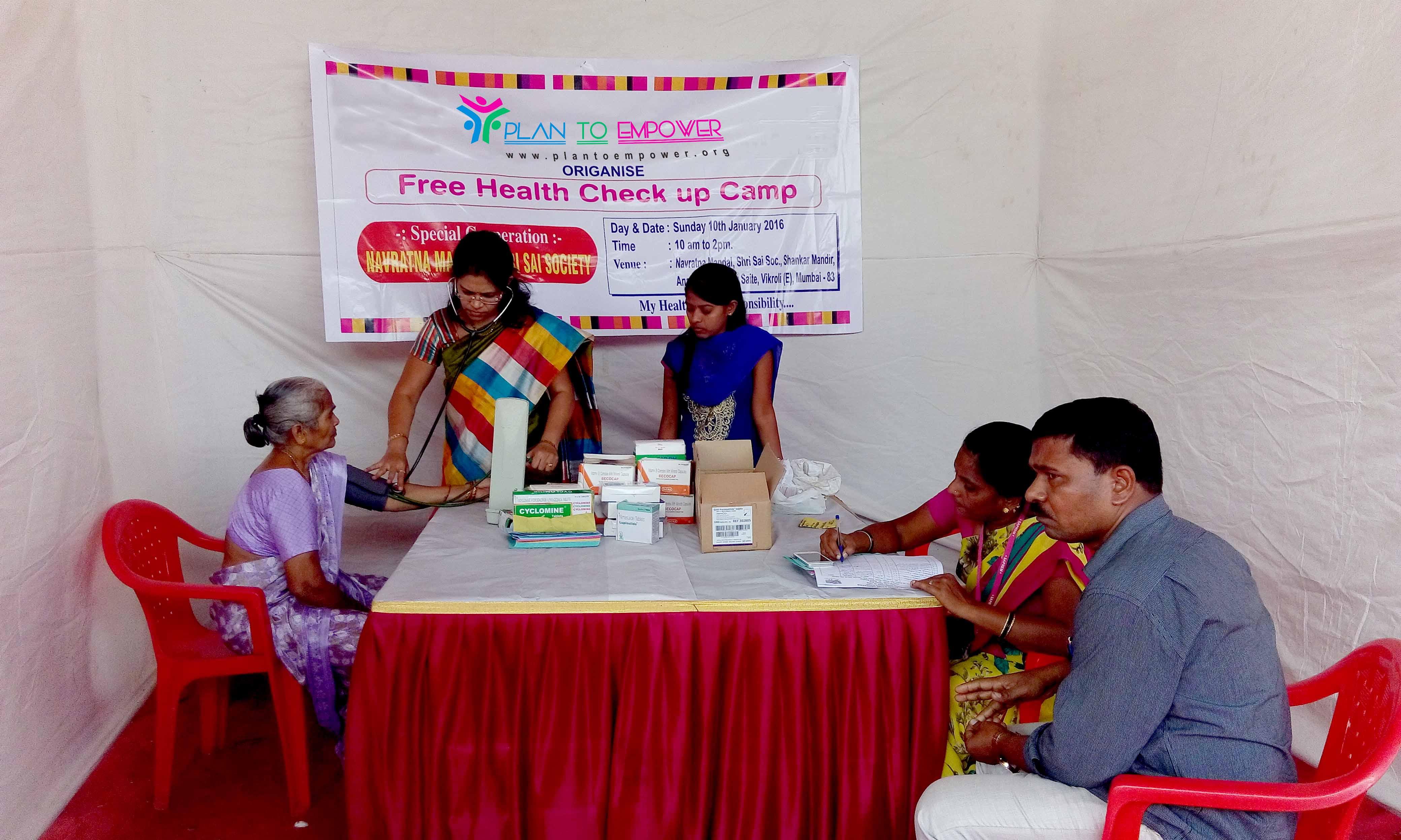 Free health check-ups